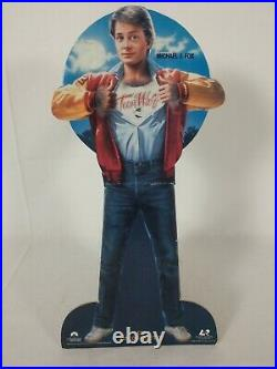 Rare TEEN WOLF Original Video Store Standee Counter Top Display 1985