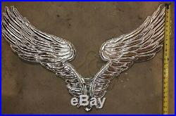 Rare Victoria Secret Fashion Show Angel Wings Display Bling Prop