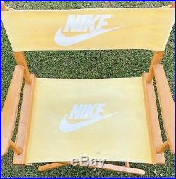 Rare Vintage 1980s Nike Directors Chair Store Display