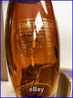 Rare Vintage Jim Beam's 8 Year Whisky Pin Bottle Carriage Lighted Store Display