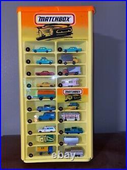 Rare Vintage Matchbox Rotating Store Display