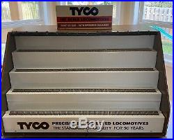 Rare Vintage Tyco Loco Engine HO Store Display Cabinet, One Of A Kind