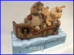 Rare! WoW TEDDY RUXPIN & GRUBBY ANIMATED AIRSHIP STORE DISPLAY