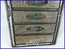 Rare moule à tablettes de chocolat usine POULAIN 1950