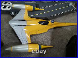 STAR WARS NABOO FIGHTER STORE DISPLAY GLOBAL SHIPPING Toys R US RARE