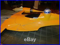 STAR WARS NABOO FIGHTER STORE DISPLAY HUGE Toys R US RARE