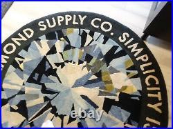 SUPER RARE + Diamond Supply Co. Brilliant Rug 4 FOOT STORE DISPLAY + NIKE SB +