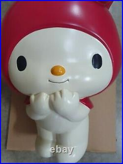 Sanrio My melody Large 50cm statue store display 90s, super rare! Japan