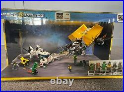 Space Heist Lego Store Lit Display Rare Space Police-used