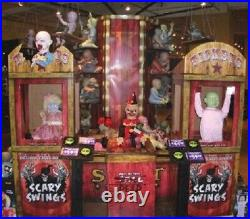 Spirit Halloween Store Display Zombie Baby Carnival 3pc Ticket Booth RARE NEW