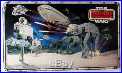 Star Wars ESB Toys Hoth Battle Scenes 2 Sided Store Header Displays C-7.5 RARE