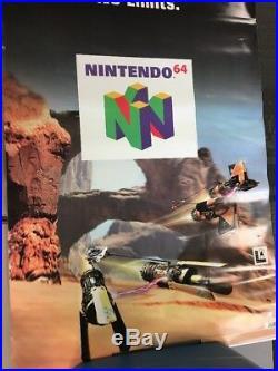 Star Wars Episode 1 Racer N64 VINYL BANNER Sign Store Display Promo RARE D2