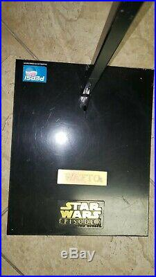 Star Wars LIFE-SIZE WATTO The Phantom Menace Promo- Rare 90s Pepsi Store Display