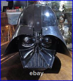 Star Wars TRU STORE DISPLAY RARE Large DARTH VADER HEAD MASK Toys R Us Demo