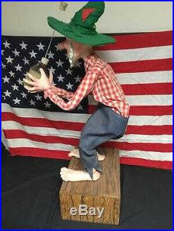 Super Rare! 1960s Mountain Dew Willy The Hillbilly Store Display