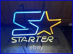 Super Rare 1990s Starter Sports Wear Store Display Neon Light Advertising Sign