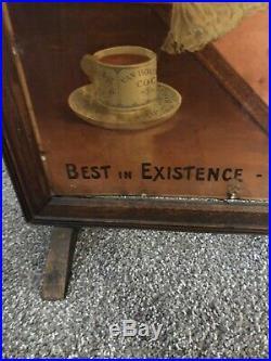 Super Rare Vintage Van Houtens Cocoa Advertising General Store Display