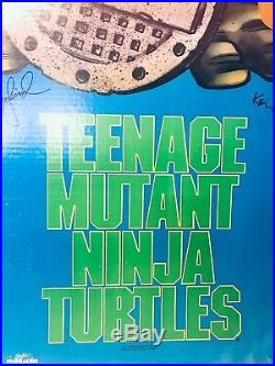 TMNT Vintage StoreMovie Display Standee HTF ITEM SUPER RARE OBSOLETE STANDEE