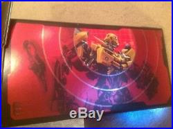 TRANSFORMERS 2007 Hasbro Movie Figure Target Store Display With Light Up Eyes RARE