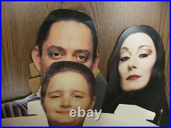 The Addams Family 1992 Blockbuster Video Store Display Standee VHS Release RARE