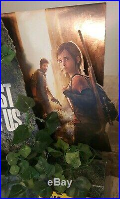 The Last of Us Standee Counter Store Display Super Rare Joel & Ellie TLOU ND