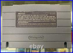 Turtles in Time SNES NFR Kiosk Cart Not for Resale Nintendo Store Display RARE