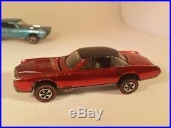 ULTRA RARE REDLINE LOT of SIX OF SIXTEEN REAL ORIGINAL 1968 STORE DISPLAY CARS