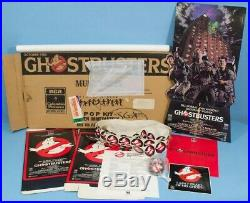 Ultra Rare 1985 Ghostbusters Home Video Store Display Kit (Unopened/sealed)