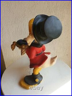 Uncle Scrooge Disney statue store display silver coin pillow figure big fig rare