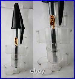 VERY RARE VINTAGE 90'S BIC PEN SHOP DISPLAY STAND BIG SIZE 67cm/26