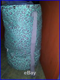 VICTORIA'S SECRET PINK RARE HTF VINTAGE leopard DOG LAUNDRY BAG VS prop display