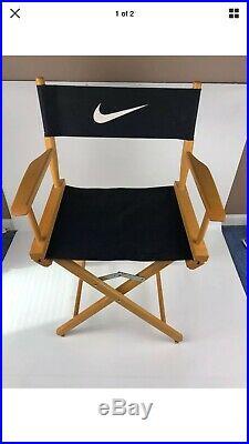 VTG 1990s Rare Nike Directors Chair Store Display Unassembled In Original Box