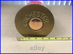VTG. Winchester Ammunition Information Center Store Dealer Display WORKING RARE