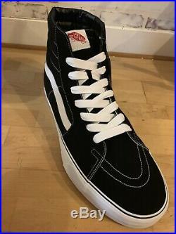Vans Otw (giant Sk8-hi) Rare Store Display Prop Shoe Sz 66 Black White New Nwt