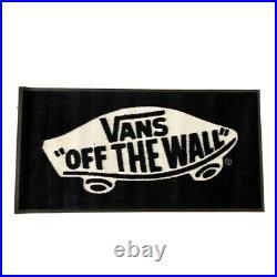 Vans Skateboard Floor Mat Off The Wall Rare 24 x 48 Carpet Excellent