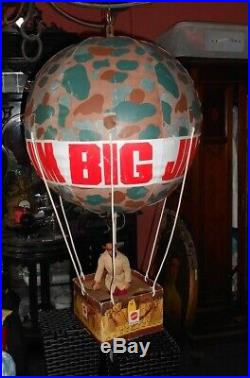 Very RARE store display Big Jim balloon comes from old German store 1970
