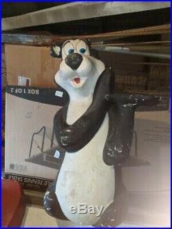 Very Rare Vintage Hamm's Beer Bear Styrofoam Mascot Store Display 60 tall