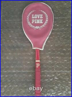 Victoria´s Secret PINK Rare Store Display Tennis Racket & Cover Hard to Find