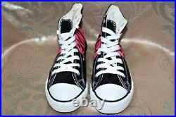 Victoria's Secret Pink Rare Htf Black Pink Converse Store Display Shoes D004