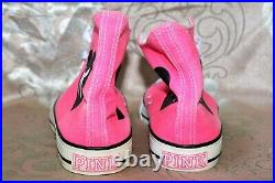 Victoria's Secret Pink Rare Htf Neon Hot Pink Converse Store Display Shoes D005