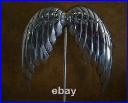Victoria's Secret super model Angel Wings Metal Store Display Statue Prop Rare