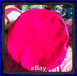 Victorias Secret Pink RARE Store Display Canvas Storage Bin