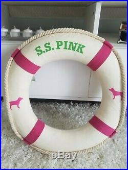 Victorias Secret Store Display S. S. Pink Life Saver Rare 19 In