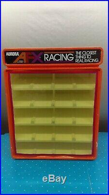 Vintage 1970's Aurora AFX Slot Car Counter Store Display Cabinet Rare L
