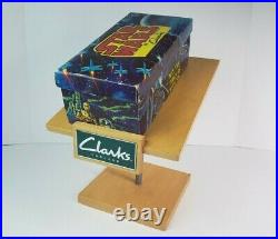 Vintage 1977 Star Wars By Clarks Original Shoe Box WITH Rare Store Display