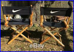 Vintage 1990s Rare Nike Director Chairs Store Display Just Do It Advertising