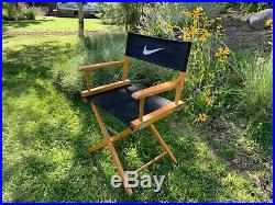 Vintage 1990s Rare Nike Directors Chair Store Display Just Do It Advertising