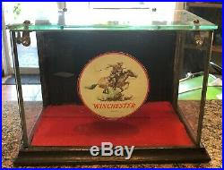 Vintage Early 1900s Winchester Gun /Shells Store Dealer Display Rare