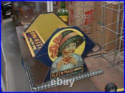 Vintage KLEEN MAID BREAD Grocery General STORE Advertising, display, very rare
