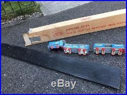 Vintage Lego 113 Motorized Train Display 1960s Bon Marche Store Display Rare